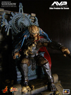 Elder Predator and Throne Model Kit