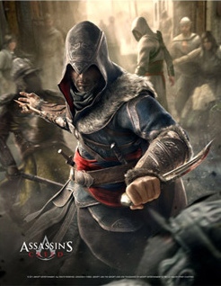 Assassins Creed Wallscroll Plakát -