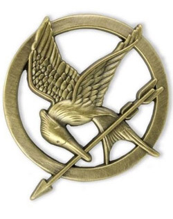 Hunger Games - brož Mockingjay