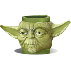 Star Wars 3D hrnek - Yoda