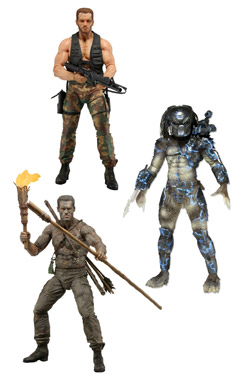 Predators Series 9 - set 3 figurek