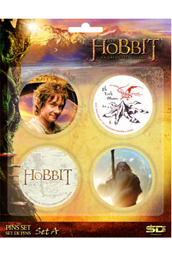 Hobbit - placky Set A