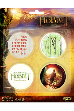 Hobbit - placky Set B
