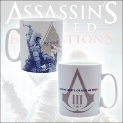 Assassins Creed III - porcelánový h