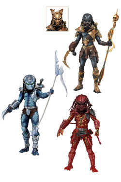 Predators Series 10 - set 3 figurek