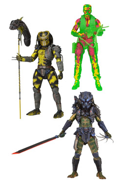 Predators Series 11 - set 3 figurek