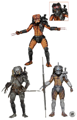 Predators Series 12 - set 3 figurek