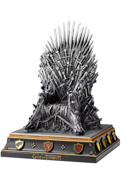 Game of Thrones - zarážka knih Iron Throne 19 cm | Figures.cz