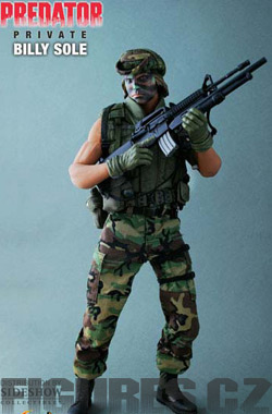 Predator Action Figure Private Bill