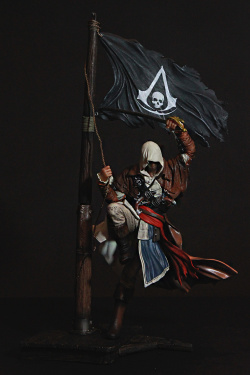 Assassins Creed IV Black Flag PVC S