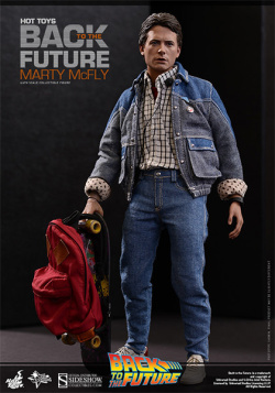 Back to the Future - Marty McFly Movie Masterpiece 28 cm | Figures.cz