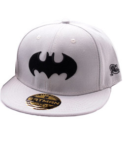 Batman - kšiltovka White - Black Lo