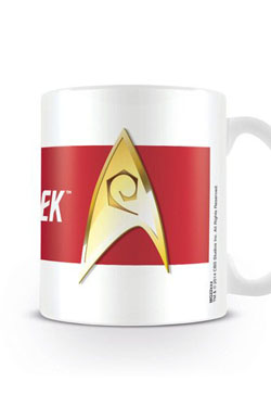 Star Trek - hrnek Engineering Red