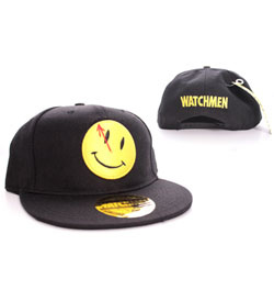Watchmen - kšiltovka Smiley Logo bl
