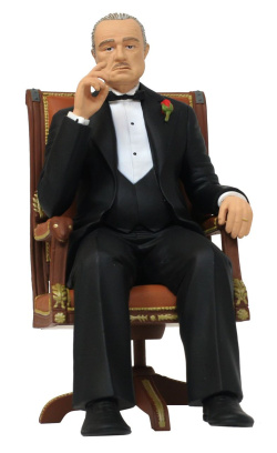 The Godfather - Movie Icons PVC Statue - Don Vito Corleone 15 cm | Figures.cz