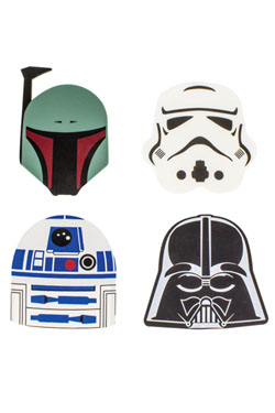 Star Wars podt�cky - set 4 ks