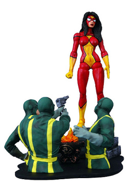 Marvel Select - Spider-Woman 18 cm