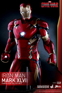 Captain America Civil War - Power Pose Series Iron Man Mark XLVI 31 cm | Figures.cz
