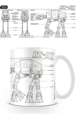 Star Wars - hrnek AT-AT Sketch