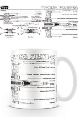 Star Wars - hrnek X-Wing Fighter Sk