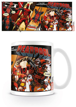 Deadpool - hrnek Deadpool Comic Ins