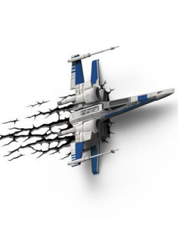 Star Wars - 3D LED sv�tlo X-Wing He