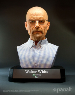 Breaking Bad - Life-Size Bust Walte