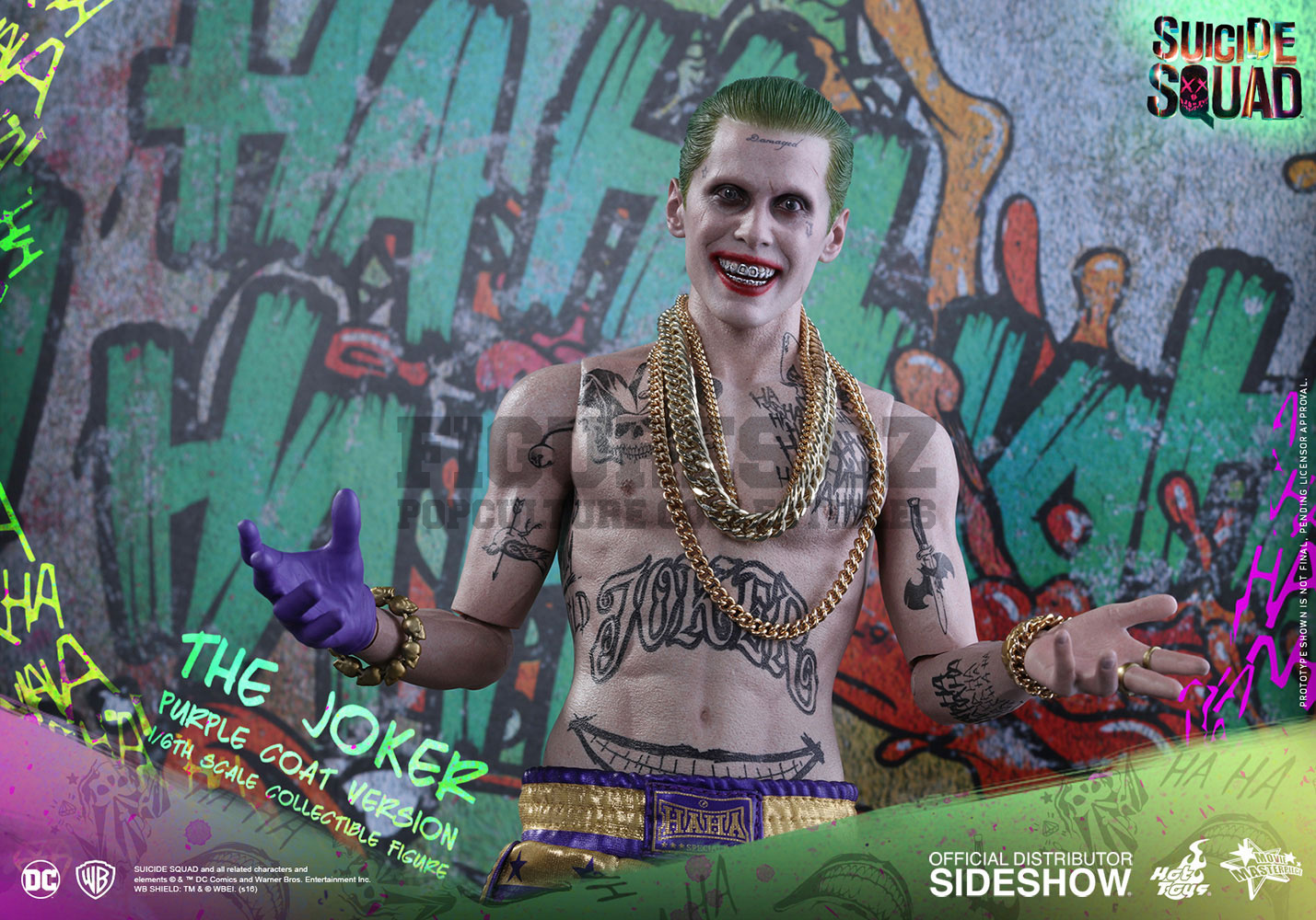 Suicide Squad The Joker Purple Coat Version Movie
