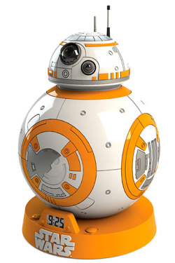 Star Wars Episode VII - budík BB-8