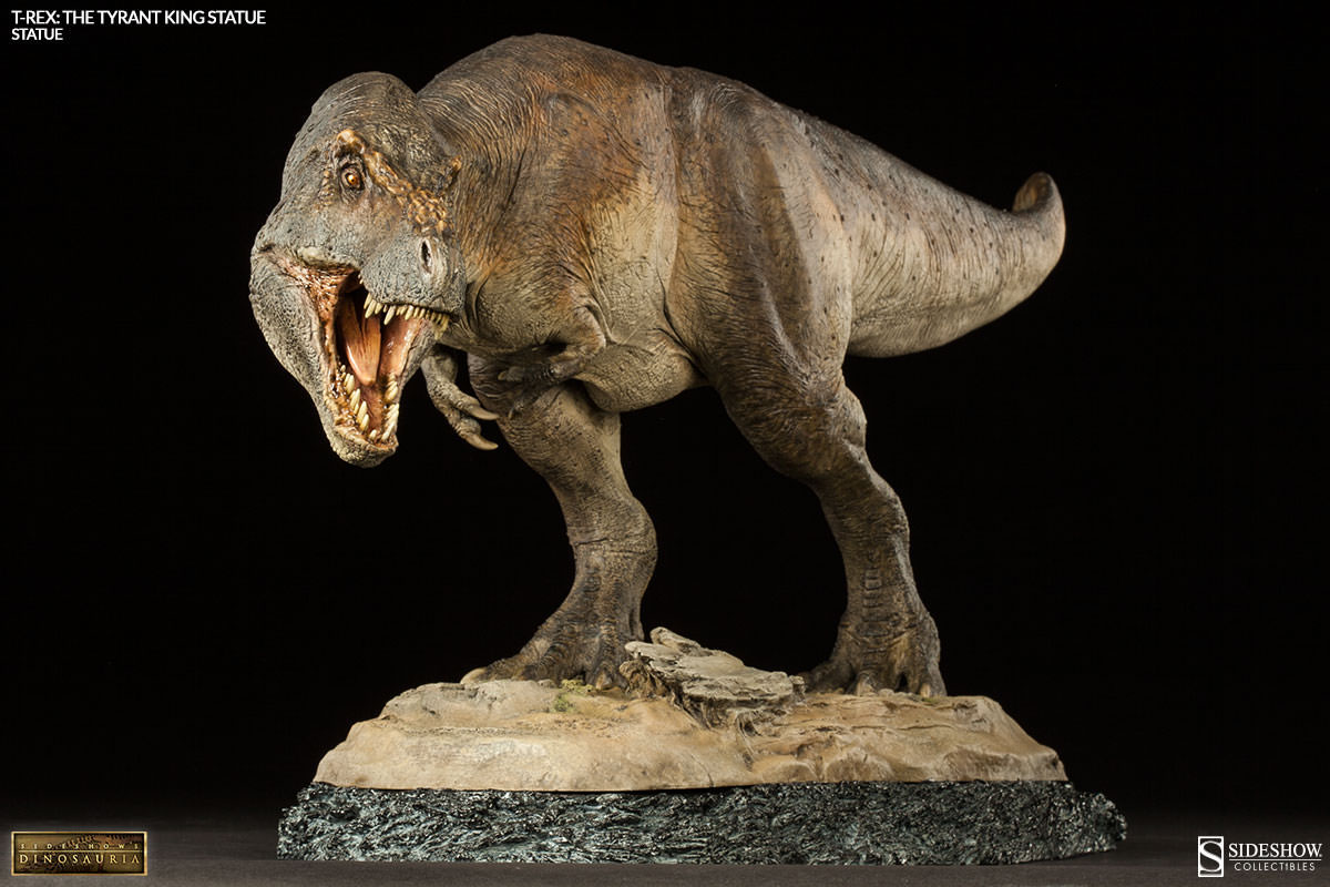 Sideshows Dinosauria Statue T Rex The Tyrant King 30 Cm