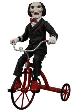 Saw Puppet on Tricycle 30cm | Figures.cz