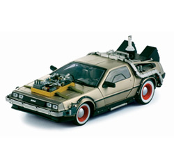 Back to the Future III 1/18 DeLorea
