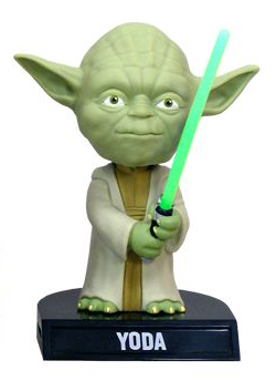 Star Wars Bobble-Head Yoda 14 cm