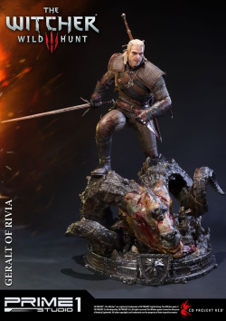 Witcher 3 Wild Hunt Statue Geralt o