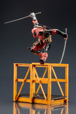 Deadpool Marvel Now ARTFX Statue Su