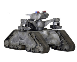 Terminator 2 Diecast Vehicle - Cinemachines Hunter Killer Tank 16 cm | Figures.cz