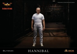 The Silence of the Lambs - sběratelská figurka Hannibal Lecter White Prison Uniform Ver. 30 cm | Figures.cz