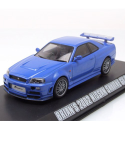 Fast & Furious 4 - Diecast Model 1/