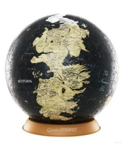 Game of Thrones - 3D Globe Puzzle U