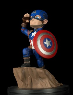 Marvel Comics Q-Fig Figure - Captai
