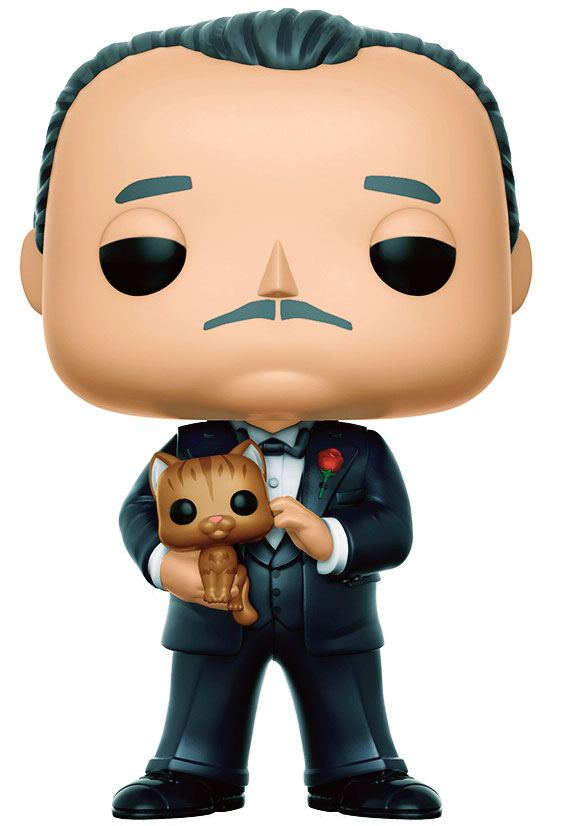The Godfather Pop Movies Vinyl Figure Vito Corleone 9 Cm