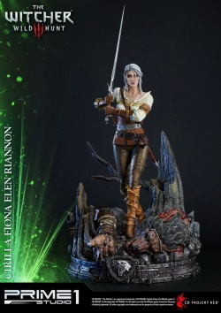 Witcher 3 Wild Hunt Statue Ciri of