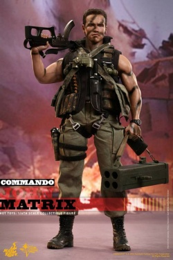 Commando Movie Masterpiece 1/6 John