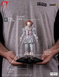 Stephen Kings It (2017) - Art Scale Statue 1/10 Pennywise 22 cm | Figures.cz