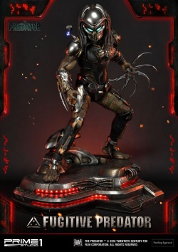 The Predator Statue 1/4 Fugitive Pr