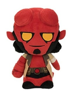 Hellboy - Super Cute plyšák Hellboy