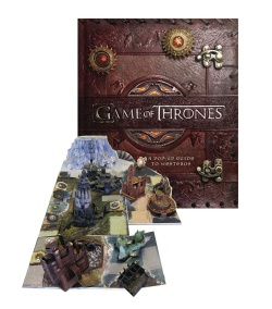 Game of Thrones - 3D kniha průvodce