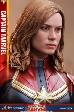 Captain Marvel - sběratelská figurka Captain Marvel Movie Masterpiece 29 cm | Figures.cz