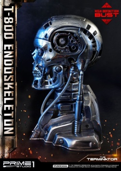 The Terminator - High Definition Bust 1/2 T-800 Endoskeleton Head 22 cm | Figures.cz