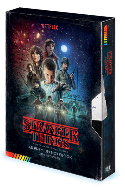 Stranger Things - zápisník Premium